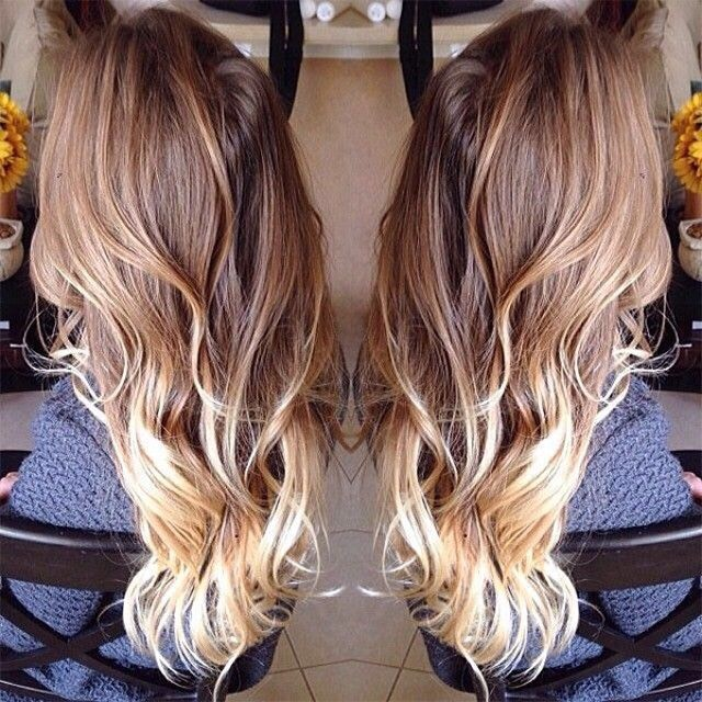 a blonde ombré is so in! and it looks gorgeous with beachy waves for those warmer months