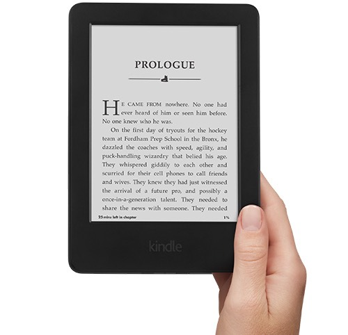 A kindle because you can find a lot of your textbooks on reduced prices and you don't have to lug around those heavy textbooks