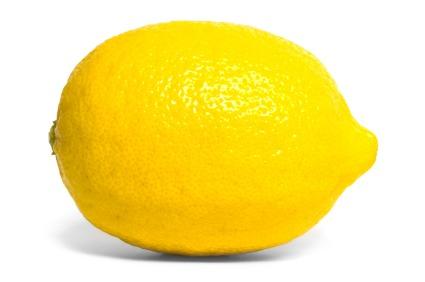 A lemon,