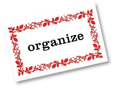 Organize! You can pick up all papers and sort them into files, make sure your bookcase is tidy. Go into your closet and make sure everything is easy to get to.