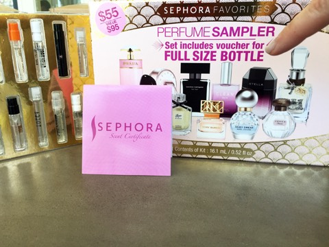 20. Don't buy fragrance unless it's from a perfume sampler.