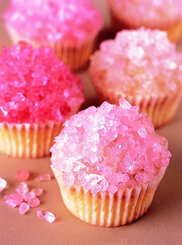 30. Rock Candy Cupcakes