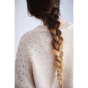 Hair- throw your hair in a quick ponytail, bun, braid, ect.
