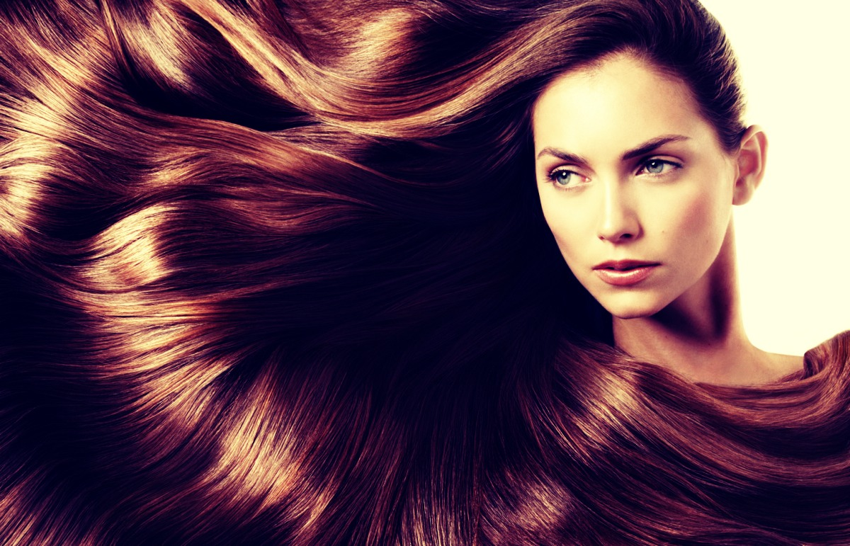 When washing your hair shampoo your hair, then rinse it out with warm water (twice)