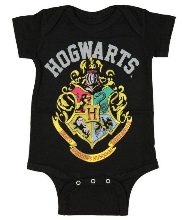 15. This onesie that lets your baby rep their future school.  $19.95