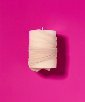 Panty Hose as Candle Cleaner Revive a forgotten flickerer. Slide a dusty candle inside a stocking and roll it around.