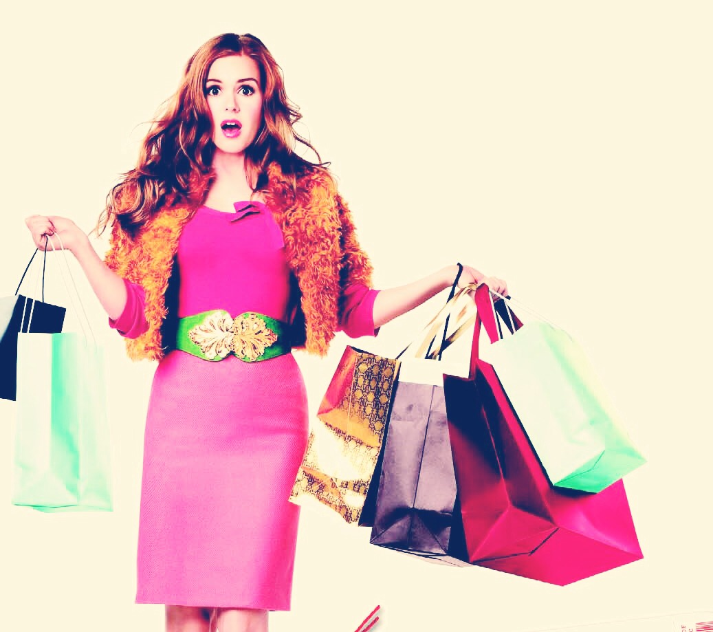 Go shopping! Find a new look, even just one or two outfits will give you a good change and make you want to get out into the market once again! Turn up turn up!
