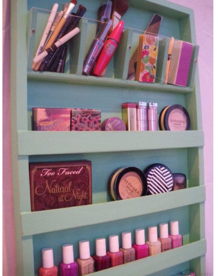 Are you in dire need of a DIY makeup organizer These awesome DIY makeup organizer ideas will save you space and trouble!