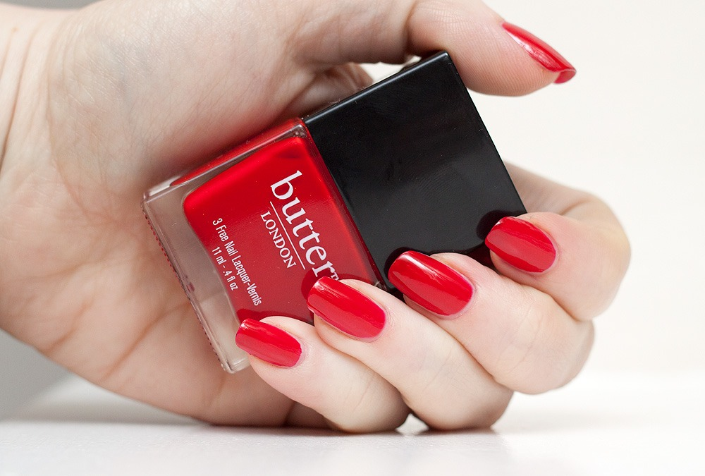 Red , in my opinion it's a staple colour all year round and it is my favourite. Red makes women feel sexy and sophisticated especially red nailpolish.