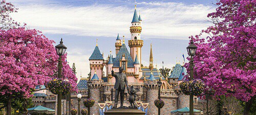 Disneyland Famed amusement park with 8 themed lands