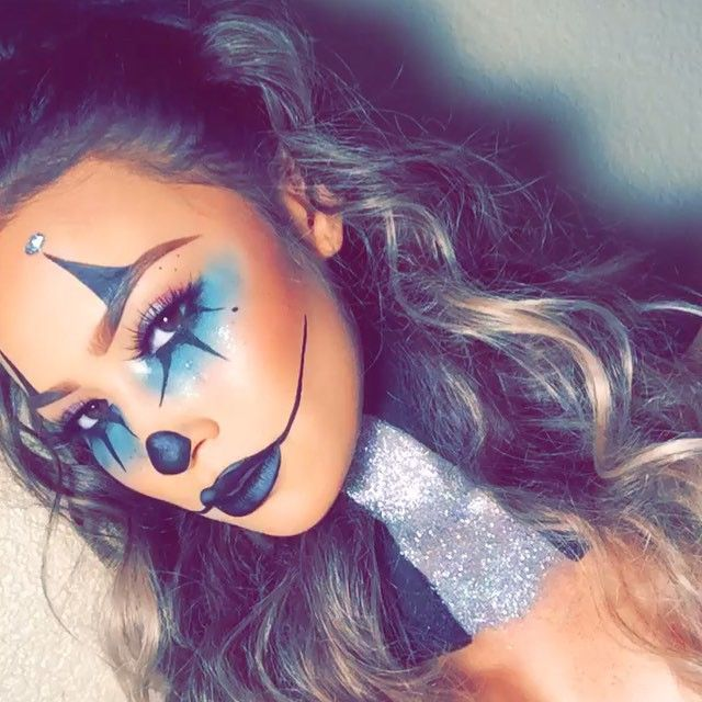 Halloween Makeup Easy Clown.Scary Clown Halloween Makeup Ideas By Georgette Musely