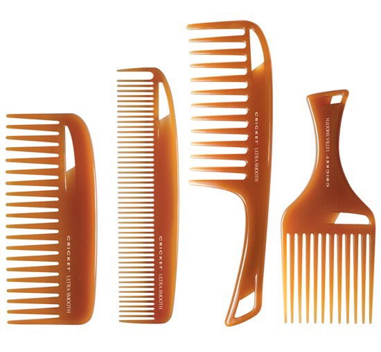 ✨ Comb Not Brush ✨  Pick a comb that will work best with your hair and use that instead of a brush. For example, fine hair might need a tighter toothed comb, and thick or curly hair will need a wide tooth comb.