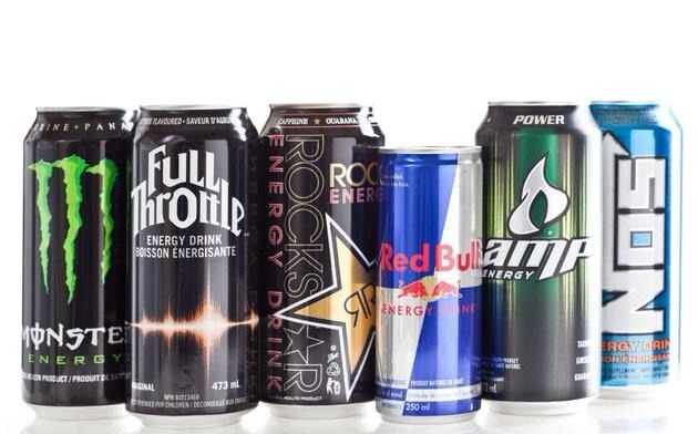 4. Energy drinks