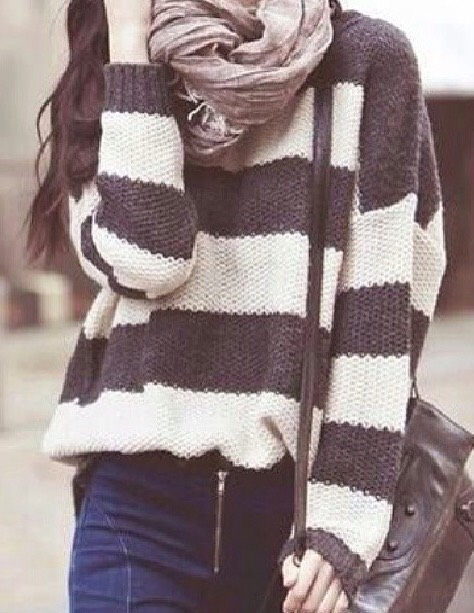 2: Infinity Scarves (and sweaters for winter😉) These scarves also go with almost everything! And can keep you warm in the winter too😆! (Sweaters; make sure the sleeves aren't too short if not, make sure they go over your hands as gloves...almost! 2in1!)
