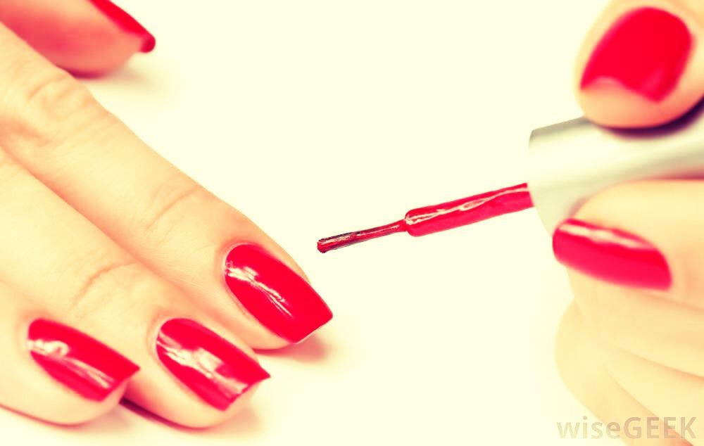 Paint your nail whatever colour !