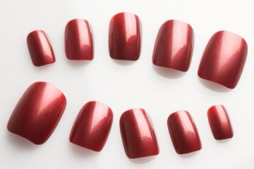 Applying fake nails is one strategy for kicking the nail biting habit.  They're not as snackable as your natural nails. Some nail polishes have a nasty taste, too, and that can help discourage nail biting -- especially if you're a nail biter who does it without realizing you're doing it.