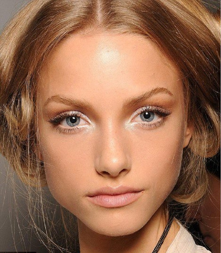 Wear white eyeliner to make eyes appear less red.