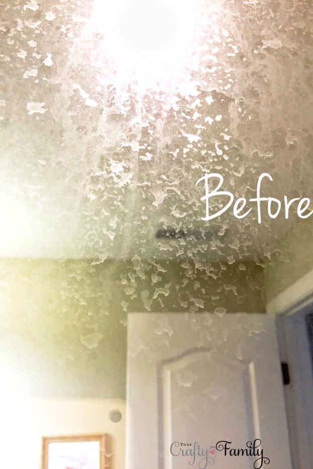 7.Take an acidic cleaner to the water stains on your shower's glass.