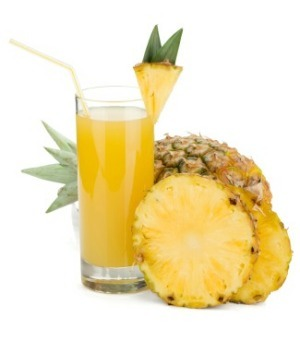 Take 1 tablespoon of pineapple juice and add a pinch of turmeric to it. Apply and rinse after half an hour.