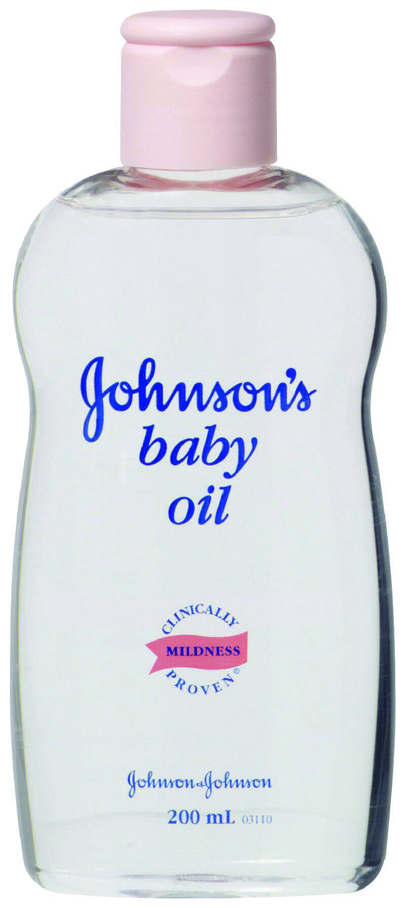 First thing you need. I actually got a travel sized Johnson's baby oil.