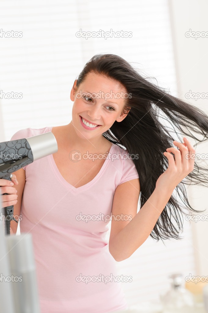Hair Care Tip---When you blow dry your hair, keep the blow dryer at least 6 inches away from your hair and keep it moving constantly so you don't overheat your hair.