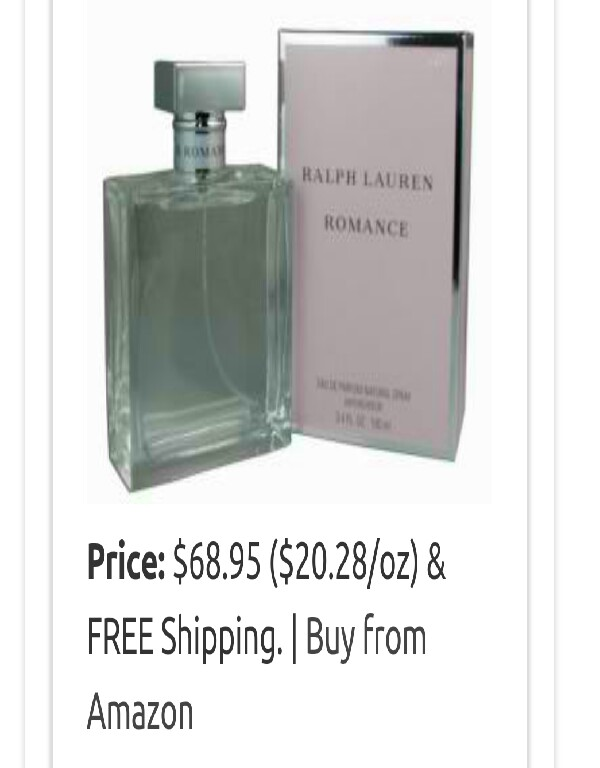 Romance by Ralph Lauren $68.95 on Amazon