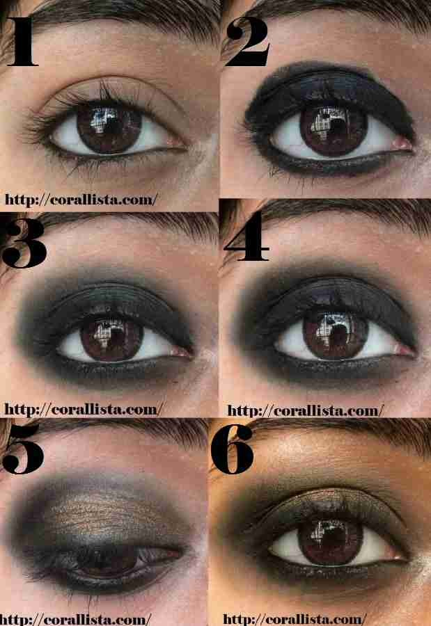 Intense Bronze Smokey Eye