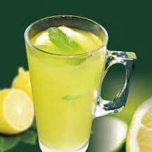 Make lemon water twice a day: squeeze a whole fresh lemon in 16oz of cold water; drink one of these in the morning and evening.