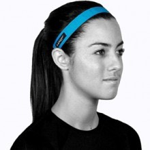 If you don't want a pony tail may as well get a nice headband