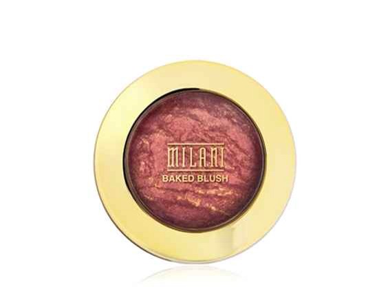 3. Milani Baked Blush: Luminoso is the most popular — for a subtle flush that's flattering on almost any skin tone.