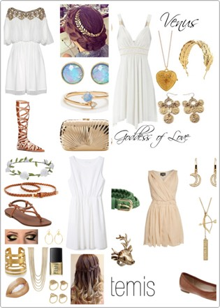 Awaken your inner goddess. Take advantage of the hot weather to dress like one. Their outfits are perfect for the summer