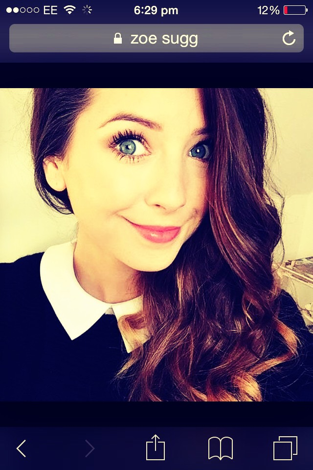 Of course the beautiful zoella