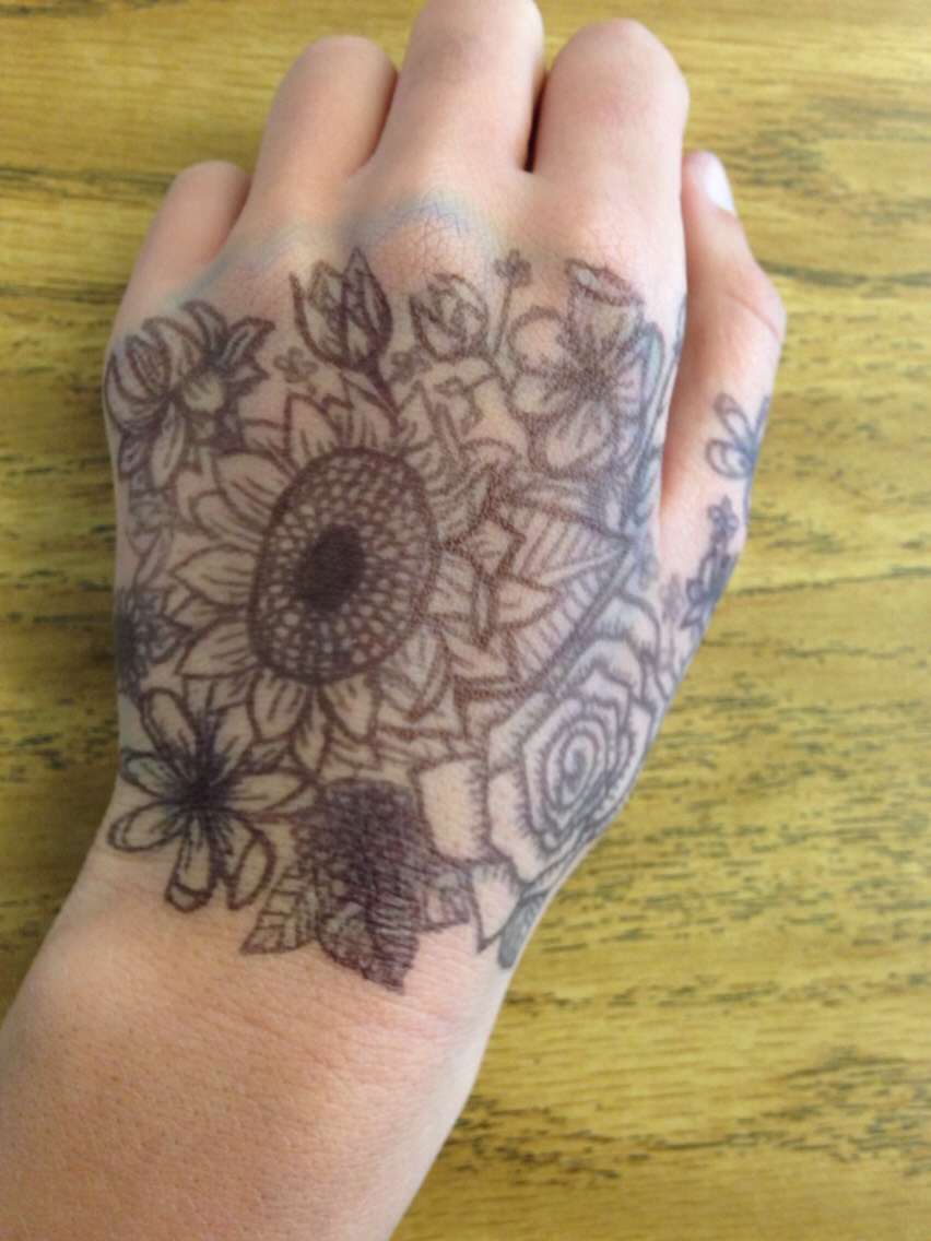 I definitely draw on my hand too much haha but I hope you enjoy them