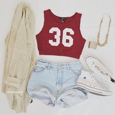 00aba90aee9 really cute outfits for summer by Kristina Mayevskaya - Musely