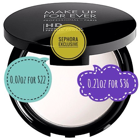 Since my T-zone is constantly oily, this powder is constantly saving my makeup from smudging all over the place.