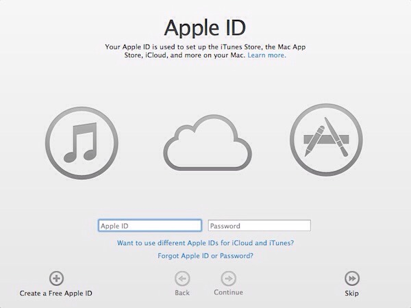 "6- Click the ""Create Apple ID"" button.  7- Click .Continue.  8- Read through the Terms and Conditions and click .Agree."