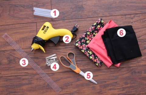This is the equipment you will need. Just go according to the following steps