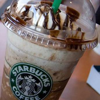 Ferrero Rocher Frappuccino  The Secret:	 1) Double Chocolate Chip Frappuccino 2) 2-3 Pumps Mocha Syrup 3) 1-2 Pumps Hazelnut Syrup 4) Top with Hazelnut Drizzle  How to Order:	Show the barista this secret recipe for the amazing Ferrero Rocher Frappuccino.