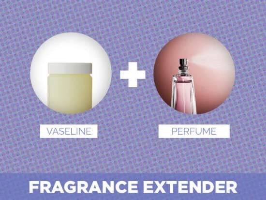 To make your perfume last longer apply Vaseline on the area your spraying the perfume.
