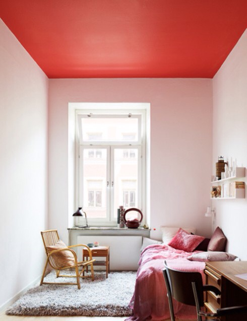 Paint the ceiling instead of the walls