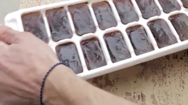4) Whenever you want a iced coffee, pop the cubes out of the tray
