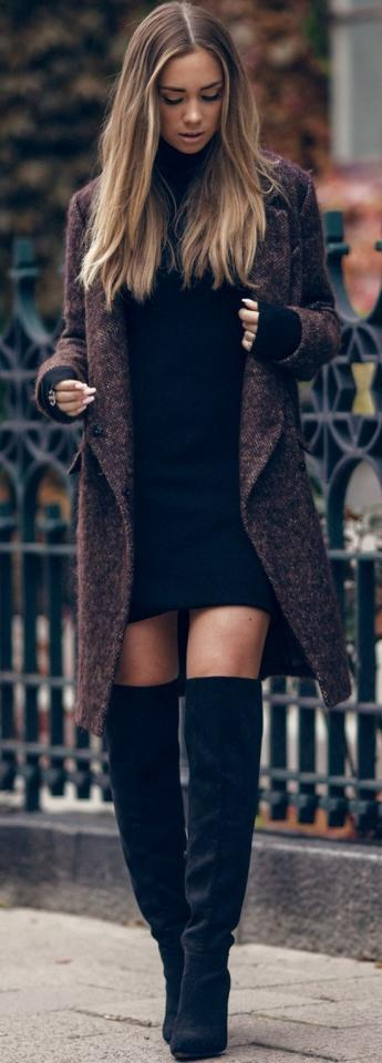 18. Winter Street Style Outfit