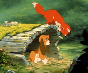 Fox and the Hound! Awww