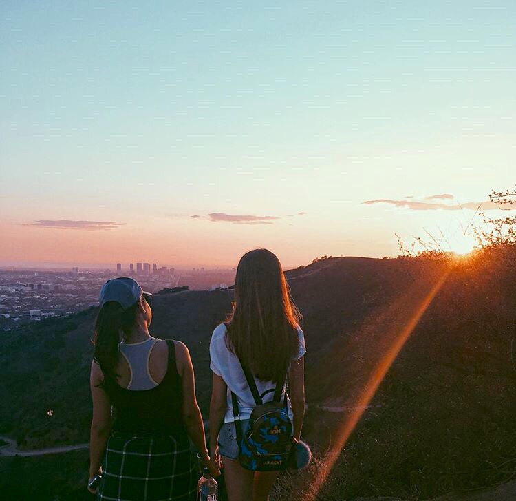 Runyon Canyon Park Popular hiking trails with scenic views