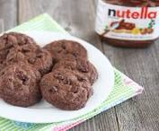 Ingredients 1 cup of all purpose flour 1 cup of Nutella 1 egg Directions Preheat oven to 350 F Mix all the ingredient together Roll the dough into balls, place onto pan and push the dough down a bit Place into the oven for about 6-8 minutes