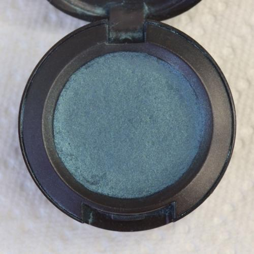 Let it sit over night and in the morning vola! your eye shadow is like brand new :)