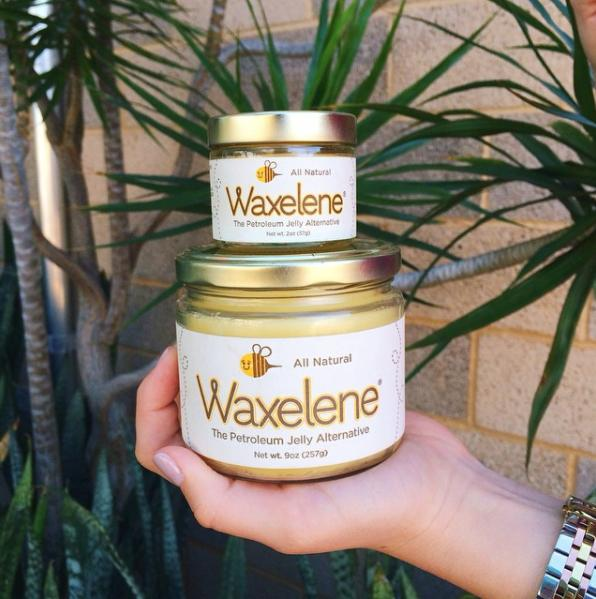 Waxelene locks in moisture and nourishes skin The great news is that you can ditch Vaseline and get Waxelene. It's a skin-nourishing balm with only soy oil, Vitamin E oil, rosemary oil, and beeswax that performs even better than Vaseline. It's gentle enough for those with sensitive skin and is even baby-safe, as there's no hidden ingredients, such as synthetic preservatives, dyes, perfumes, or thickeners.