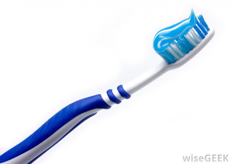 Now I have to brush my teeth