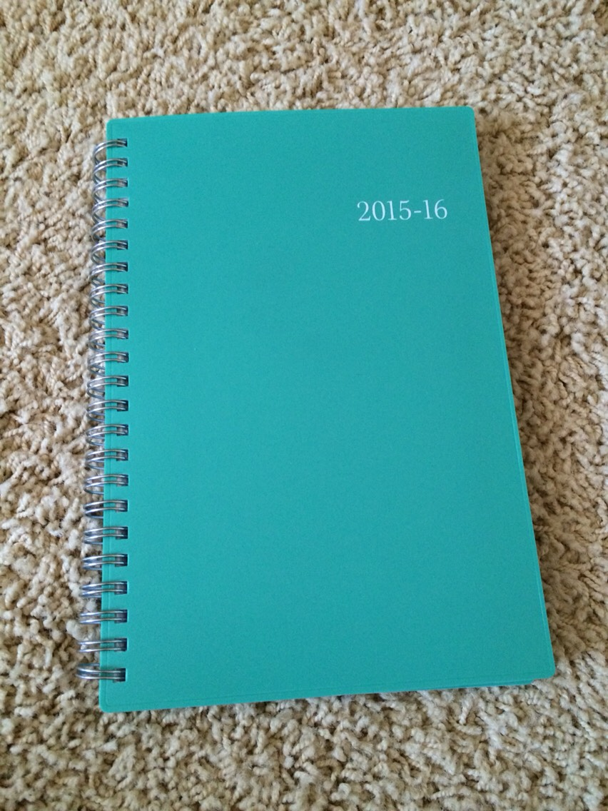 •8•  A planner to write down homework