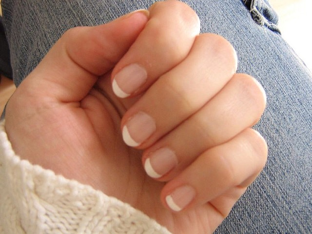 Before panting your nails. Add some Vaseline around them for a easier clean up.!